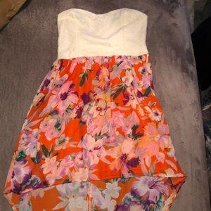 Strapless High-Low Dress!